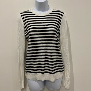 MICHAELMichael Korres striped sequined sweater  S